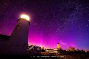 mainenorthernlight&lightouse